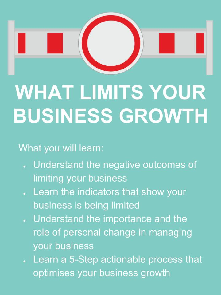 What Limits Your Business Growth